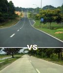 Perbandingan Jalan Aspal dan Jalan Beton