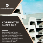 corrugated sheet pile