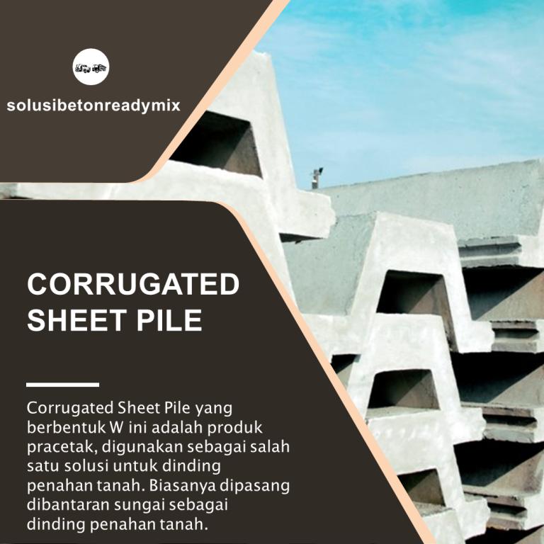 corrugated sheet pile