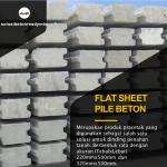 flat sheet pile
